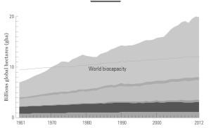 biocapaciteit ecologische voetafdruk